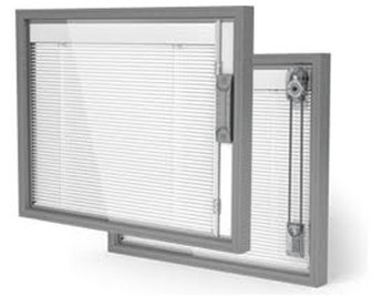 Safety features of integral blinds. Cordless (automatic or manual) or automatic release cord